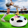 Colorful LED Flashing Football Toys Air Power Soccer Disc Gliding Floating Football Game Indoor Toy Soccer