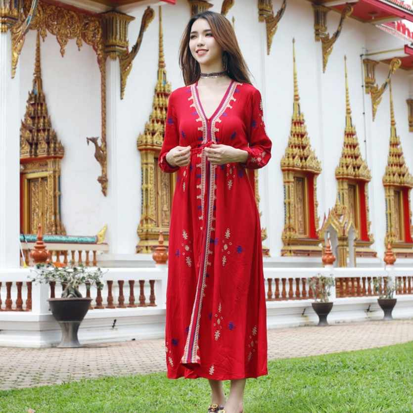 381cf289c20 Новые сари Индии женская одежда хлопок Пакистанская Женская одежда в  индийском стиле длинная блуза с вышивкой