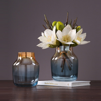 Modern Minimalist Transparent Glass Vase Terrarium Glass Containers Vases For Centerpieces For Weddings Flower Vase Home Decor Buy At The Price Of 52 80 In Aliexpress Com Imall Com