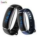Lemado V8 Bluetooth sports Wristband Heart Rate Monitor Blood pressure test smart band For IOS 8.0 Android 4.4 or Above phones