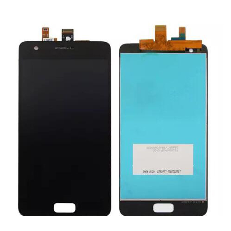 Original For Lenovo ZUK Z2 LCD Display With Touch Screen Digitizer Assembly With frame Black White Color Free Shipping