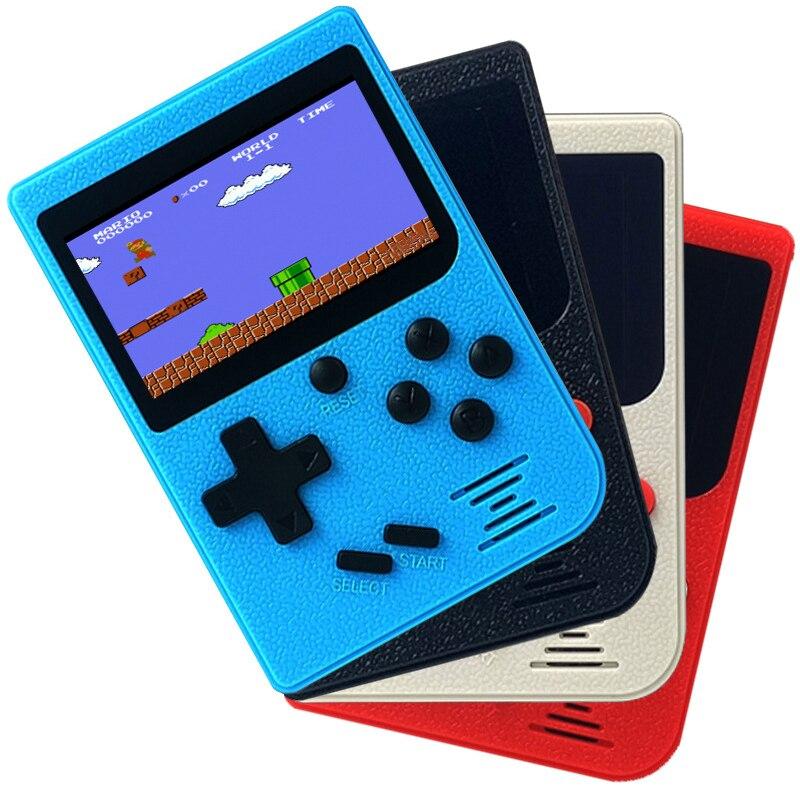 Retro portátil mini console de jogos de vídeo 8 bits bolso handheld jogador do jogo incorporado 129 jogos clássicos melhor presente para a criança
