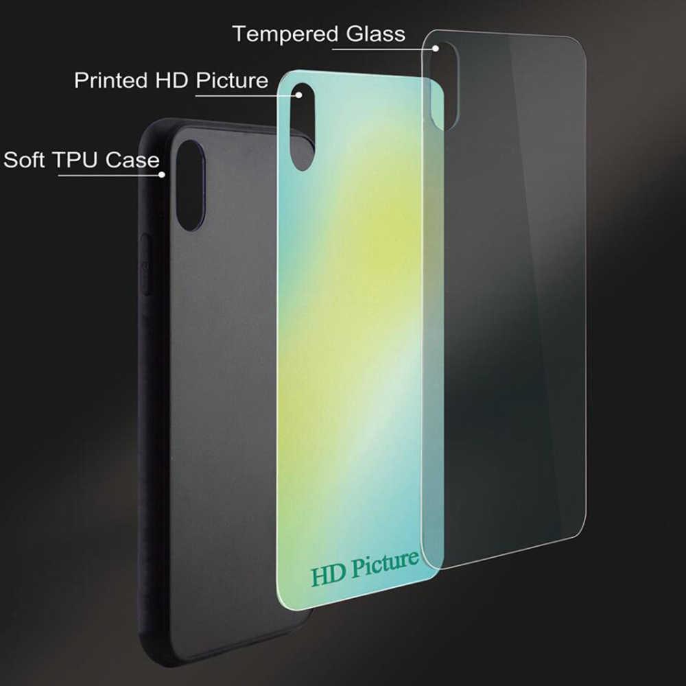 プリントアレッサンドロ Lindblad ガラス電話 Huawei 社の名誉 10 ケース 9 7A プロ Y6 Y9 P10 Lite P20 1080P スマートメイト 20 ケーススキン
