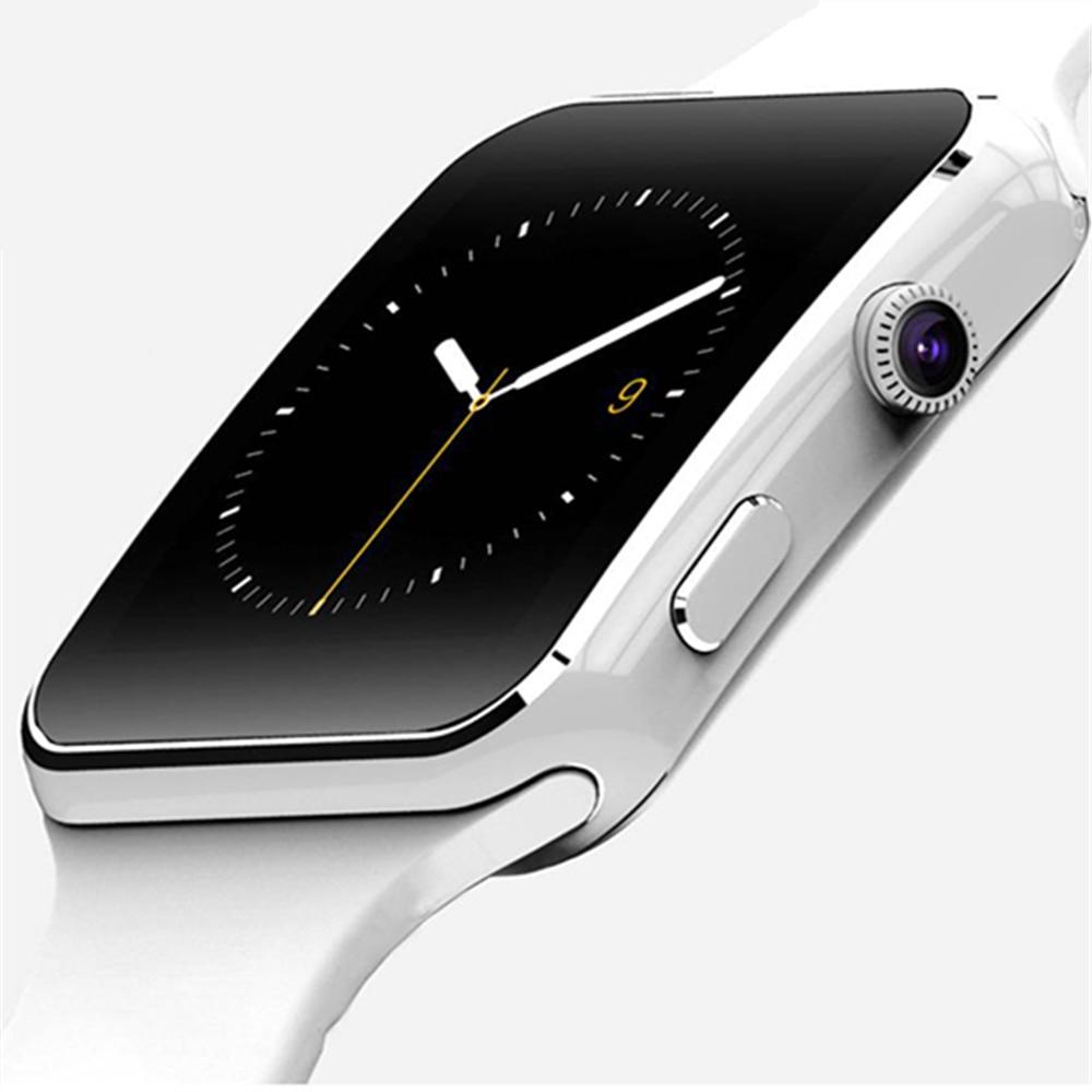 Orologio intelligente Orologio Con Slot Per Sim Card Push Messaggio Connettività Bluetooth Telefono Android Meglio di DZ09 Smartwatch Orologi Da Uomo