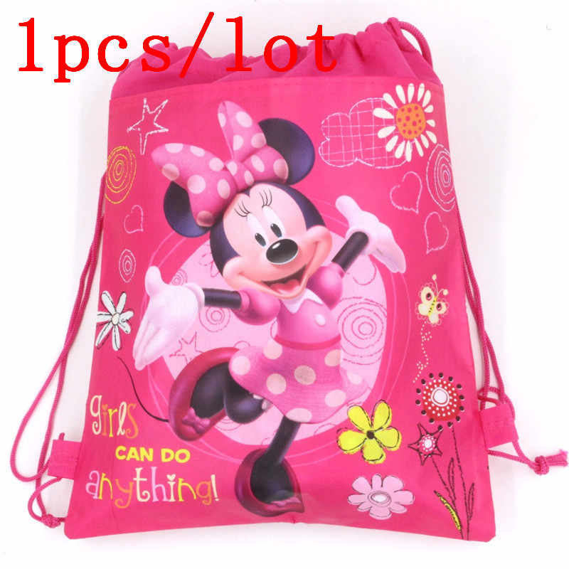 022c90b863e Detail Feedback Questions about Mickey Mouse 1Pcs Backpack Gift Bag Non  woven Fabrics Kid Bags Cute Cartoon Style Back Packs Storage Back Pack  Favor School ...