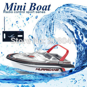 Image 2 - Brand New RC Boat Barco RC 777 218 Remote Control Mini RC Racing a Boat Model Speedboat with Kid Gift FSWB