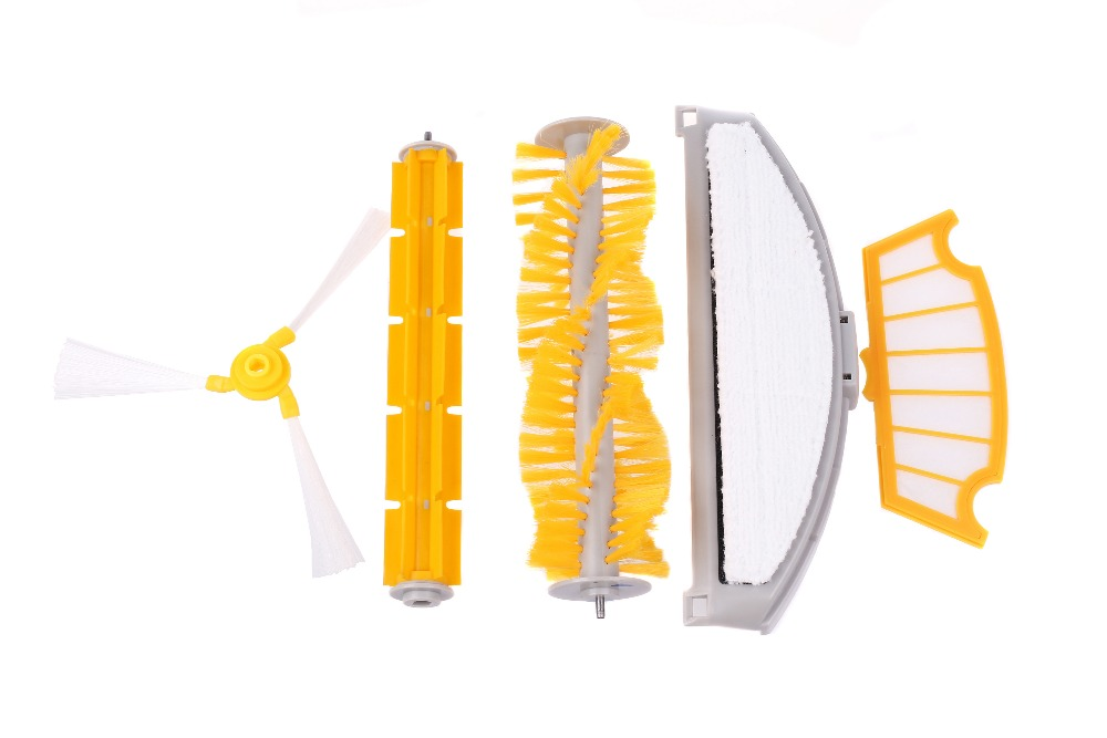 (For A320/A325/A335/A336/A337) Spare part for Robot Vacuum Cleaner, Main Brush,Rubber Brush,Side Brush,HEPA Filter,Mop,Mop pad for cleaner a320 or a325 hair brush rubber brush for robot vacuum cleaner a320 or a325 vacuum cleaner parts