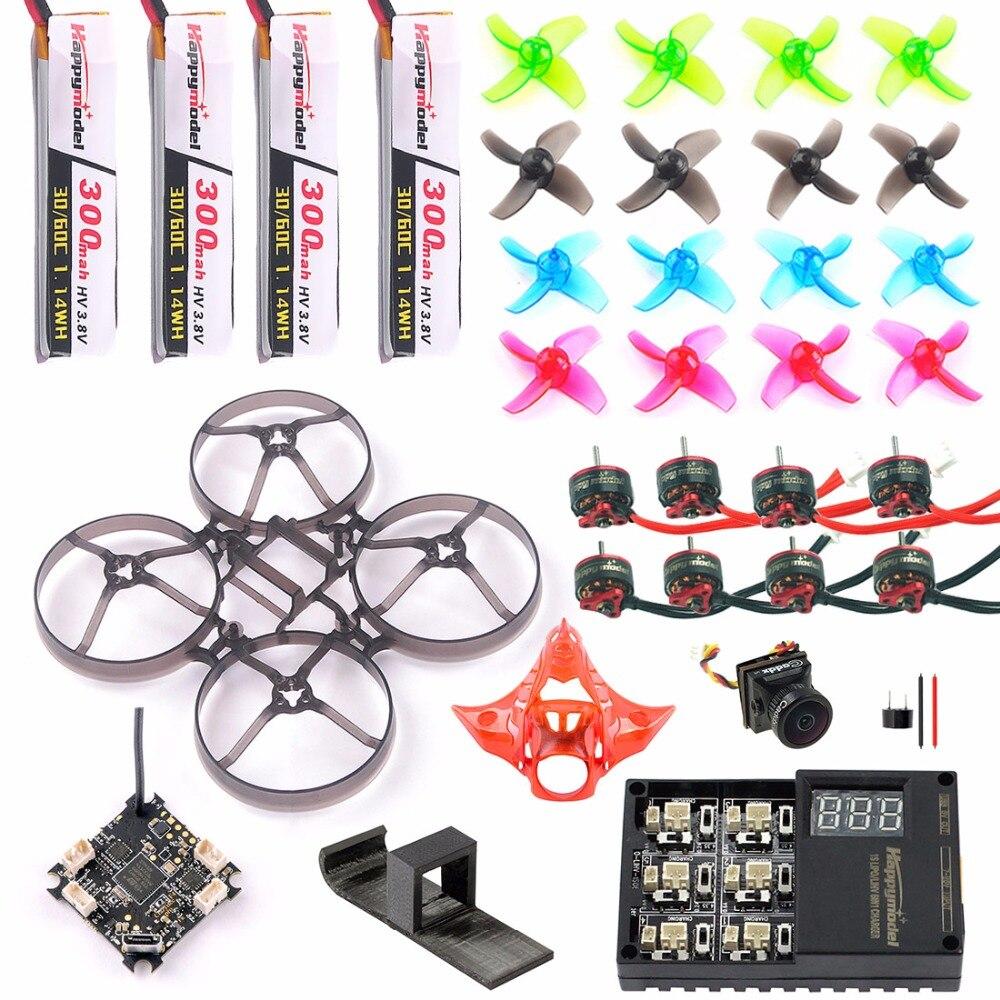 Full Set DIY Mobula 7 V2 FPV Drone Accessories Crazybee F4 P