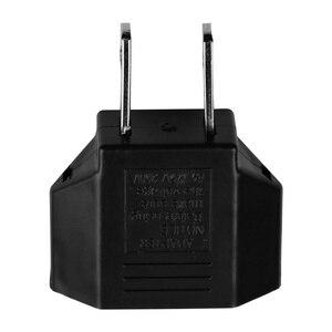 Image 3 - 5 adet/grup abd, ab tak adaptörü ab abd seyahat güç adaptörü elektrik fişi dönüştürücü soket amerikan avrupa Outlet dönüştürücü FS