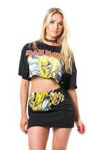 Saia Longa Fashion Selling Empire None Print Skirts Womens Midi Skirt The New 2016 Women's Sexy Rock Music Two-piece Printed