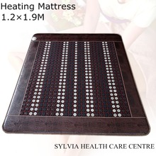 Free Shipping Jade Physical Therapy Cushion Germanium Tourmaline Health Heated Electric Heat Mats bed warm mattress 1.2X1.9M