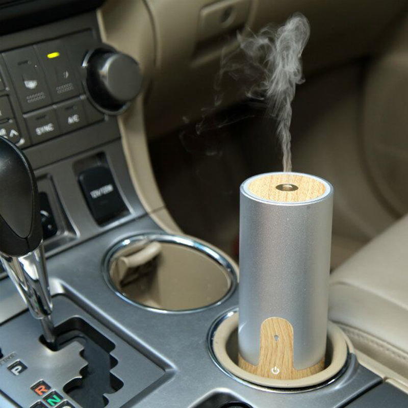 купить GXZ Wood Grain Car Humidifier Ultrasonic USB Aroma Diffuser Essential Oil Diffusers Mist Maker Mini Portable Air Purifier дешево