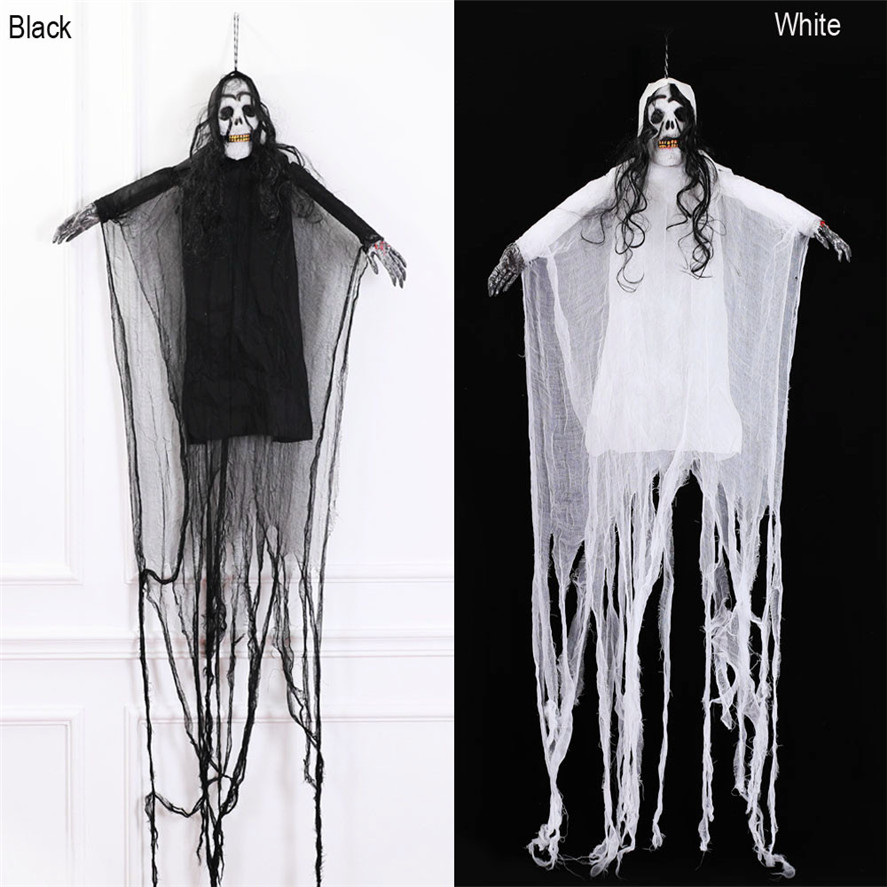 New Horror Halloween Decor 1PC Creepy Scary Skeleton Ghost