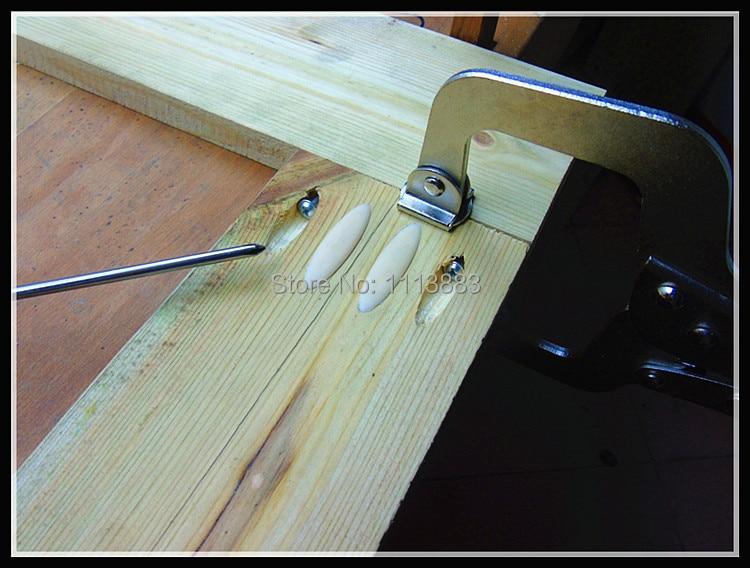 "Купить с кэшбэком Mini Pocket Hole Jig Kit For Woodworking +  9.5mm Step Drill Bit + 11"" inch Face Clamp Locking C-Clamp Plus Pocket Hole Clamp"