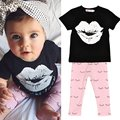 2PCS Baby Clothes Sets Kids Casual Cartoon Outfits Short Sleeve T-shirt +Long Pants Outfits Plus Size Baby Clothes Set nz17