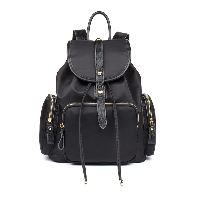 2019 new European and American style waterproof Ms. Oxford double Shoulder Bag hundred backpack boutique women's bag