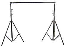 SUPON Photo Photography 2.8m*3m/9ft*10ft Metal Backdrop Stand Background Support System + Carrying Bag Case kit