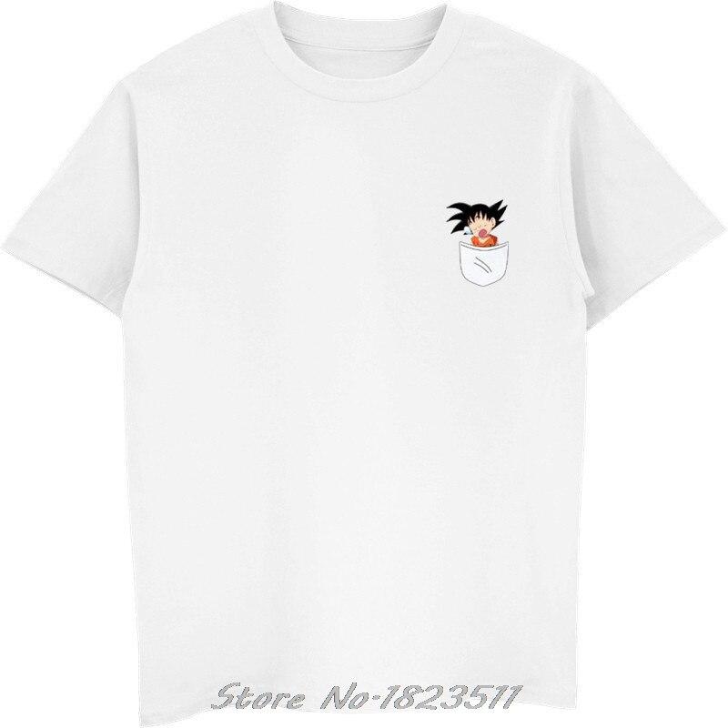 Men's Clothing Dbz T Shirt Men Capsule Corp Dragon Ball Z Super Son Goku Funny Pocket T Shirts Vegeta Fitness T-shirt Camisetas Hombre Tops 100% High Quality Materials