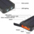 2017 NUEVO Portátil A Prueba de agua Solar Powerbank Banco de la Energía 12000 mAh Dual USB Cargador de Batería Solar con luz LED SOS teléfono