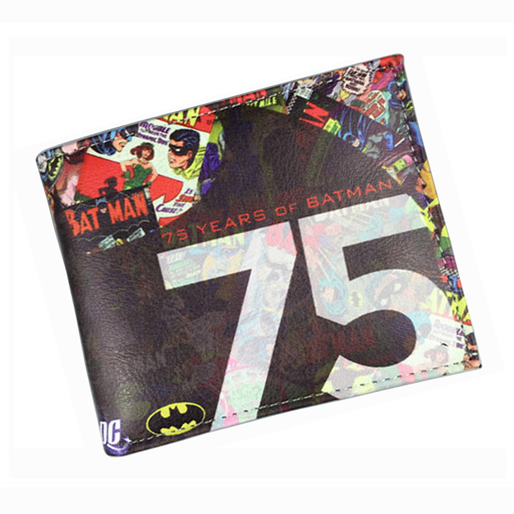 Comics DC Marvel Casual Wallets Man Cartoon Animation Superman Batman Super Hero Purse Gift Wallet carteira masculina 4.5 inch comics dc marvel dollar price wallets men women super hero anime purse creative gift fashion leather bags carteira masculina