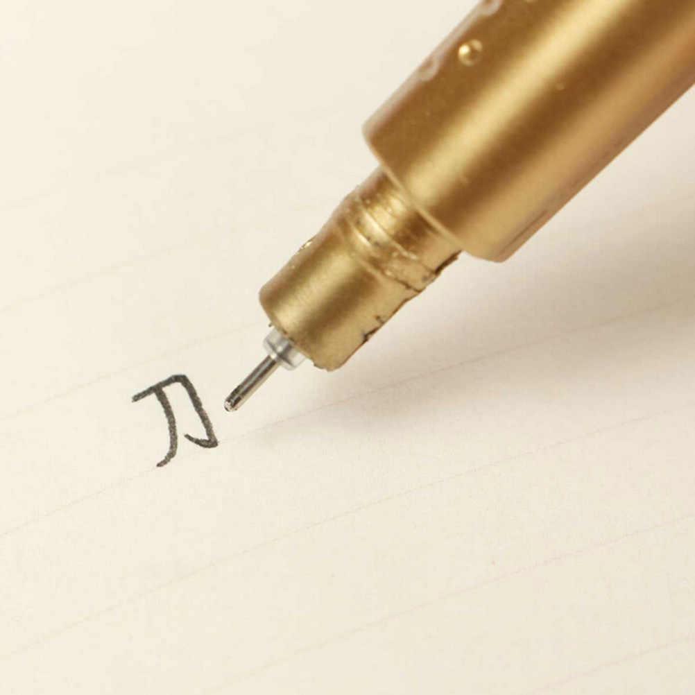 1 шт. 0,38 мм черные гелевые ручки для чернил пластиковые золотые пистолеты шариковая ручка в форме цветка ручка канцелярские принадлежности