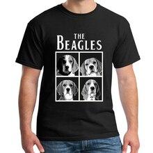Frauen nette Die Beagles lustige t hemd männer Kurzarm Casual plus größe S 3XL t hemd homme beagle design t shirts herren NN