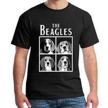 Mulheres bonito dos beagles engraçado t camisa masculina manga curta casual plus size S 3XL t camisa homme beagle design tshirts dos homens nn