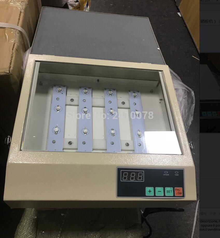 UV Exposure Unit for Hot Foil Pad Printing PCB/ Resin Version Printing-down Machine/ PS Edition Print Machine SC-280 spe zksbj110 6070 vacuum uv exposure unit screen printing mahcine