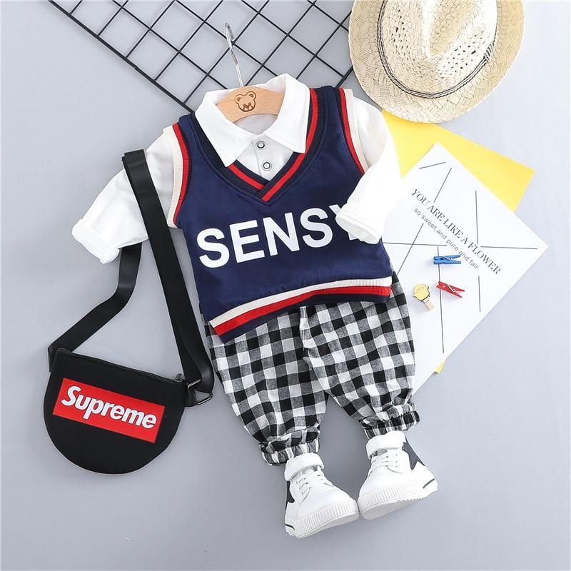 Korean baby clothes boy set 2019 spring toddler boys ... Korean Toddler Clothes