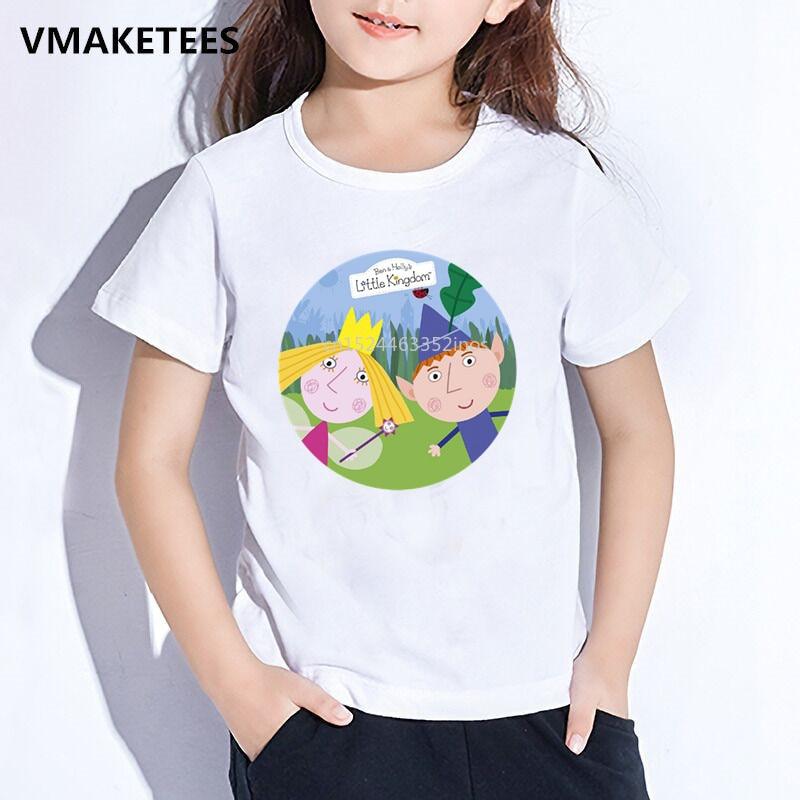Ben /& Holly Boys T-Shirt