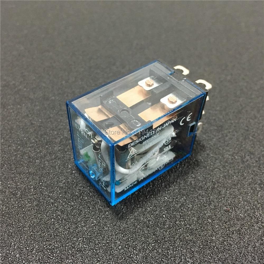 MY2NJ HH52P JQX-13F AC24V Coil 8PIN Power Relay DPDT Miniature Relay 1PC