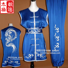 Customize Chinese wushu uniform Kungfu clothing Martial arts suit nanquan match clothes embroidery for men children girl boy kid