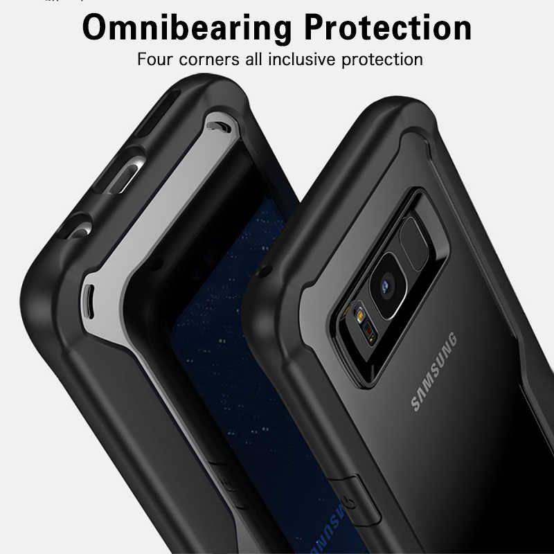 brand new f9653 6ca26 GKK Case for Samsung Galaxy a7 2018 Case Samsung S9 S8 Plus Cover  Transparent Silicon for Samsung S8 S9 A6 A6 Plus 2018 case