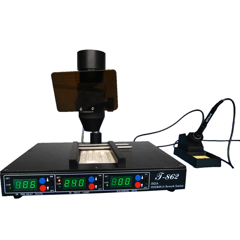 Electric Soldering Irons Welding Equipment Orignal Puhui T-870a Bga Irda Welder Lamp Infrared Heating Lamp Rework Station Heat Bulb For T870a Accessary Lamp Complete Range Of Articles