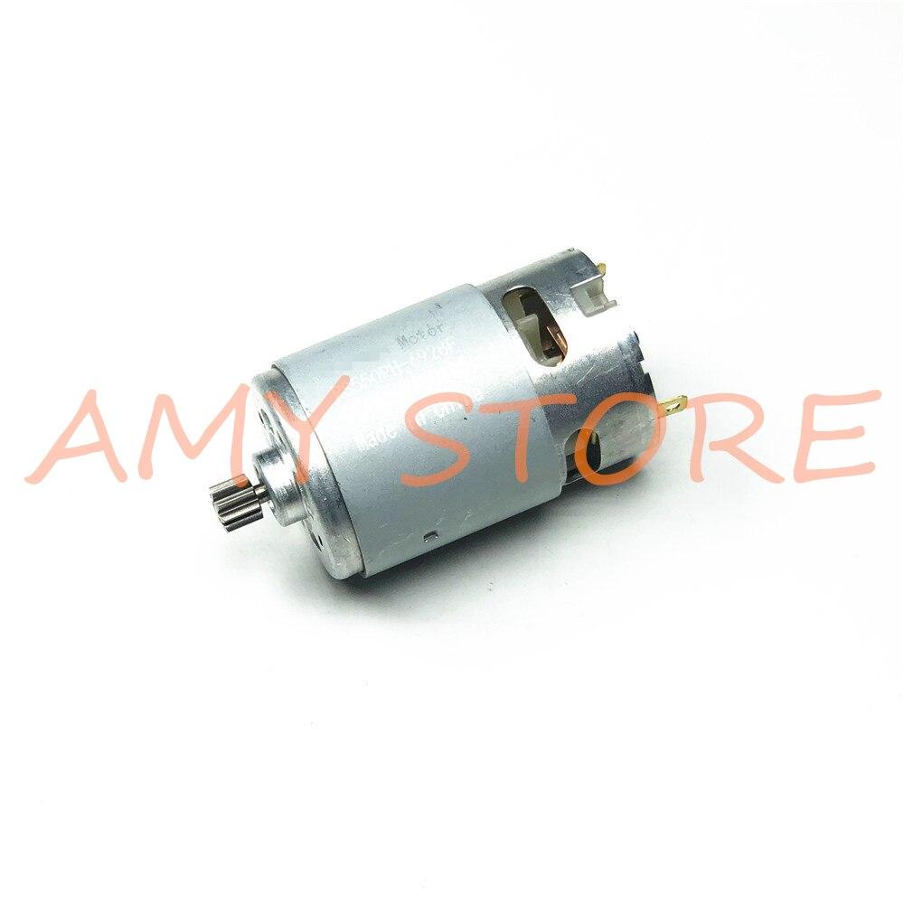 RS550 Motor 12 17 14 Dentes Dentes 9.6 V 10.8 V 14.4 V 16.8 V 18 V Engrenagem 3mm Eixo Para Carga Sem Fio Broca Chave De Fenda
