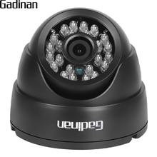 "Gadinan 2.8mm Lens Wide Angle 1/3"" CMOS 1000TVL IR-CUT Night Vision Dome CCTV Camera Home Security Surveillance ABS Housing"