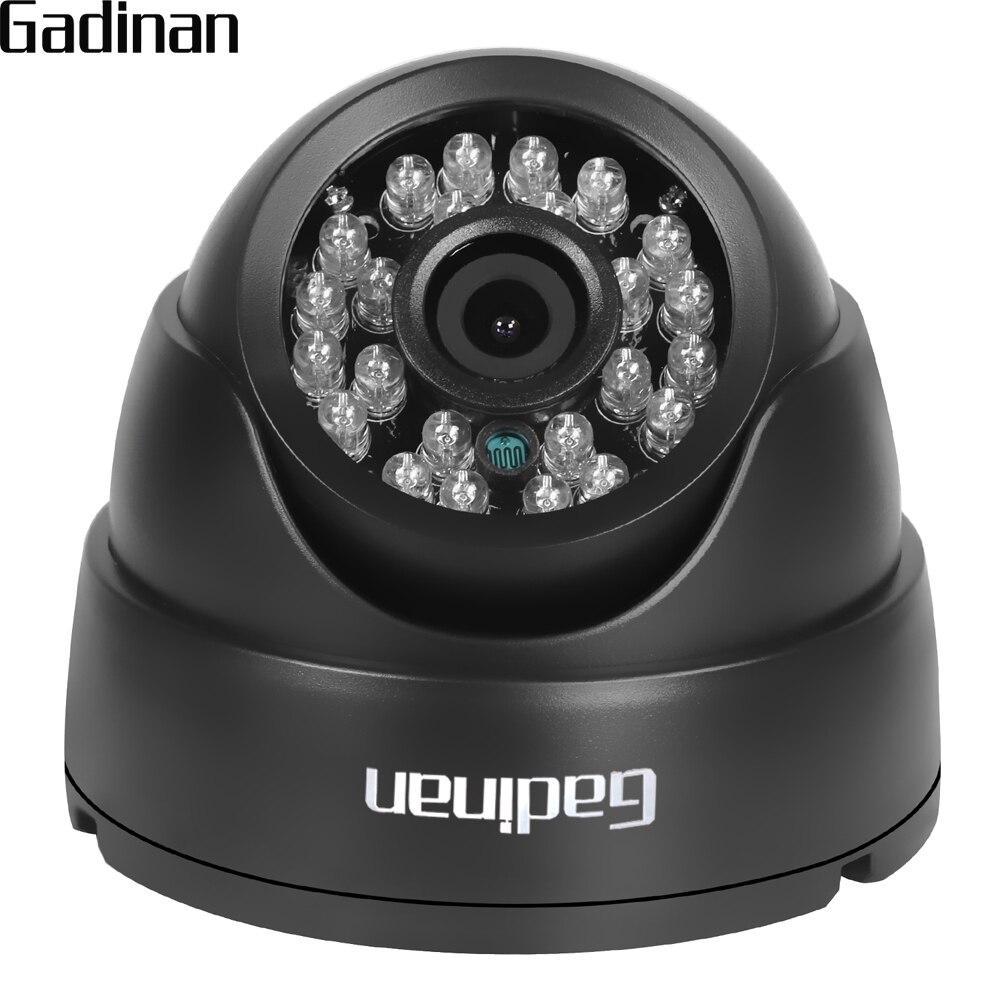 GADINAN 2.8mm Lentille Grand Angle 1/3 ''CMOS 1000TVL IR-CUT de Vision Nocturne Dôme CCTV Caméra de Sécurité À Domicile de Surveillance ABS logement