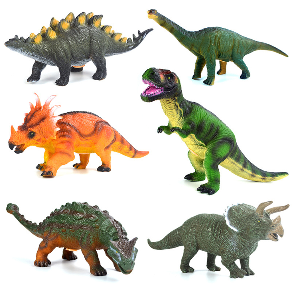 Shawe 20 Pieces Assorted Mini Animals And Dinosaurs Figures Toys Set