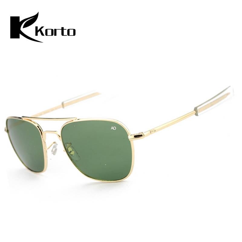 c0a262e6deb53e Pilot Sun Glasses for Men AO Sunglasses Aviation Zonnebril Mannen Douglas  Macarthur Glasses Oculos Lunette De Soleil Homme Sol