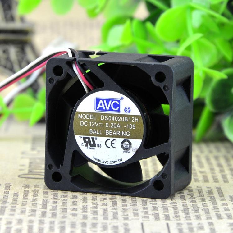 AVC DS040B12H 4cm 1U server fan switch 40 12V 0.A axial cooling fan