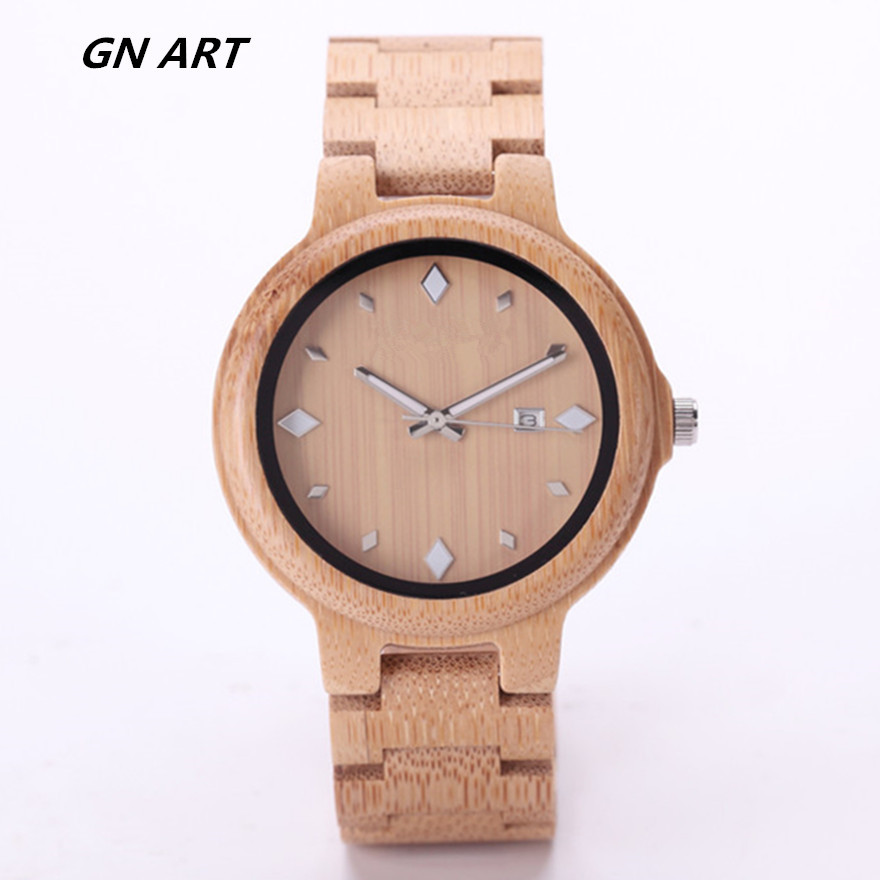 019Z Luxury Clock Gift Full Wooden Watches Man Creative Sport Bracelet Analog Nature Bamboo Quartz Wristwatch Male Wood Watch yisuya nature wood bamboo watch men handmade full wooden creative women watches 2018 new fashion quartz clock christmas gift