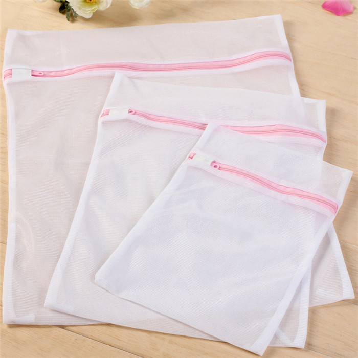 Polyester Fine Mesh Delicates Laundry Bag Size 50 60cm Premium Washing Protects Clothes In Bags Baskets
