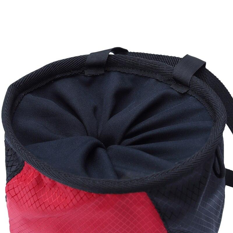Мел мешок порошок магния чехол для хранения Для Скалолазание тренажерный зал с кулиской регулируется пояс