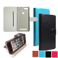 With Protection Film FOR HomTom HT37 Case 5 0 Hard Plastic Shell Inner PU Leather