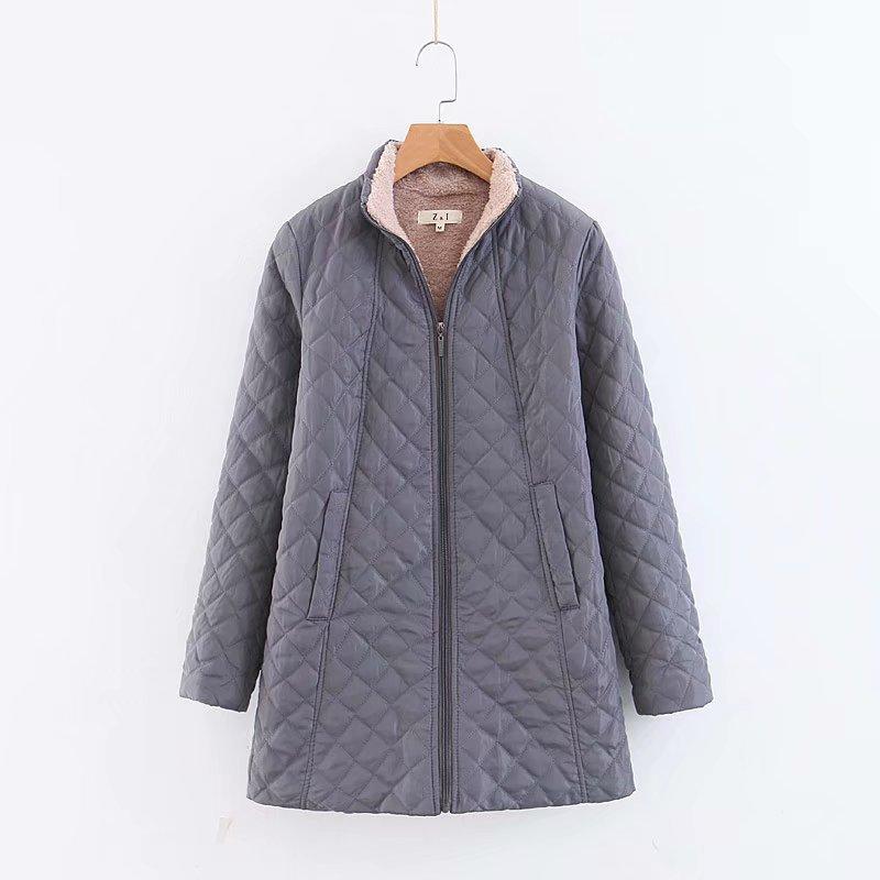 2019 Winter Down   Parka   Warm Long Cotton padded Jacket Female Coat Loose Plus Size 3XL Winter Jacket Women Stand Collar Outwear