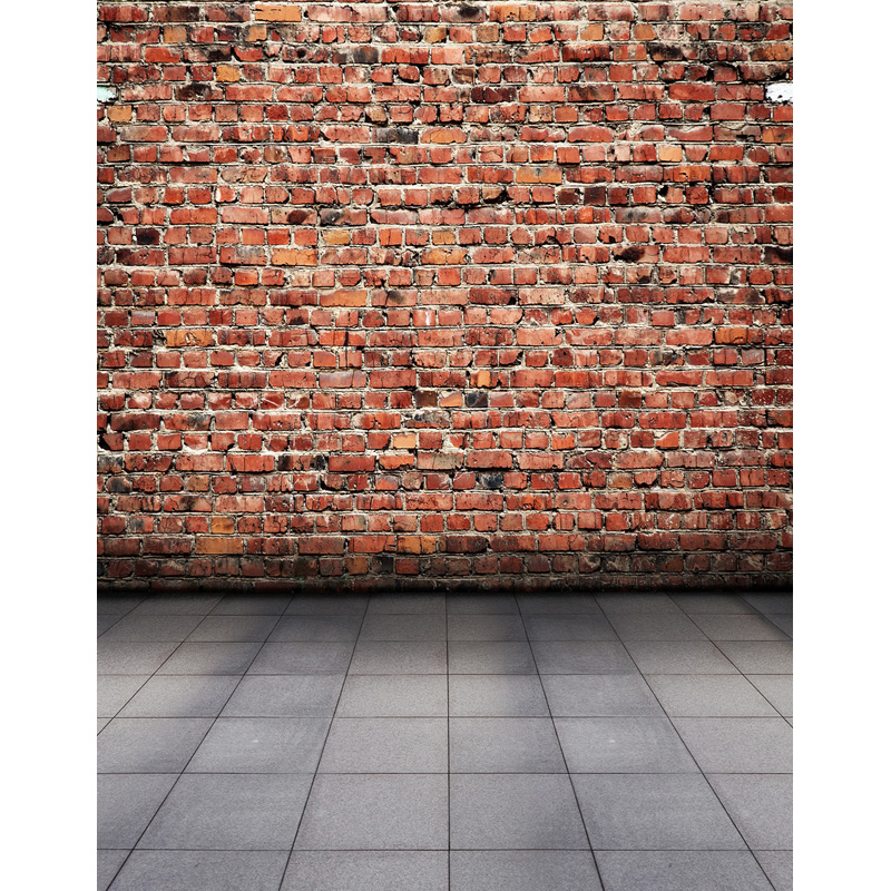 6x10ft Customize Vinyl Red Brick Wall Photography Background Stone Floor Backdrop For Children Party Photo Panel Free Shipping In From Consumer