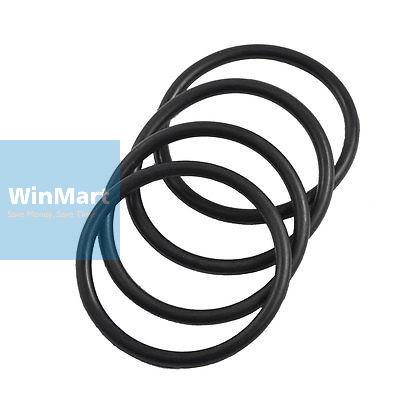 Boiler Black 40mm x 3.1mm Rubber Sealing Washers Oil Seal O Rings 10 ...