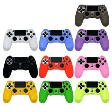 PS4/Slim Fleksibel Karet Gel Sarung Lembut Silicone Case Controller untuk Sony PlayStation 4 Kontroler Game Aksesoris(China)