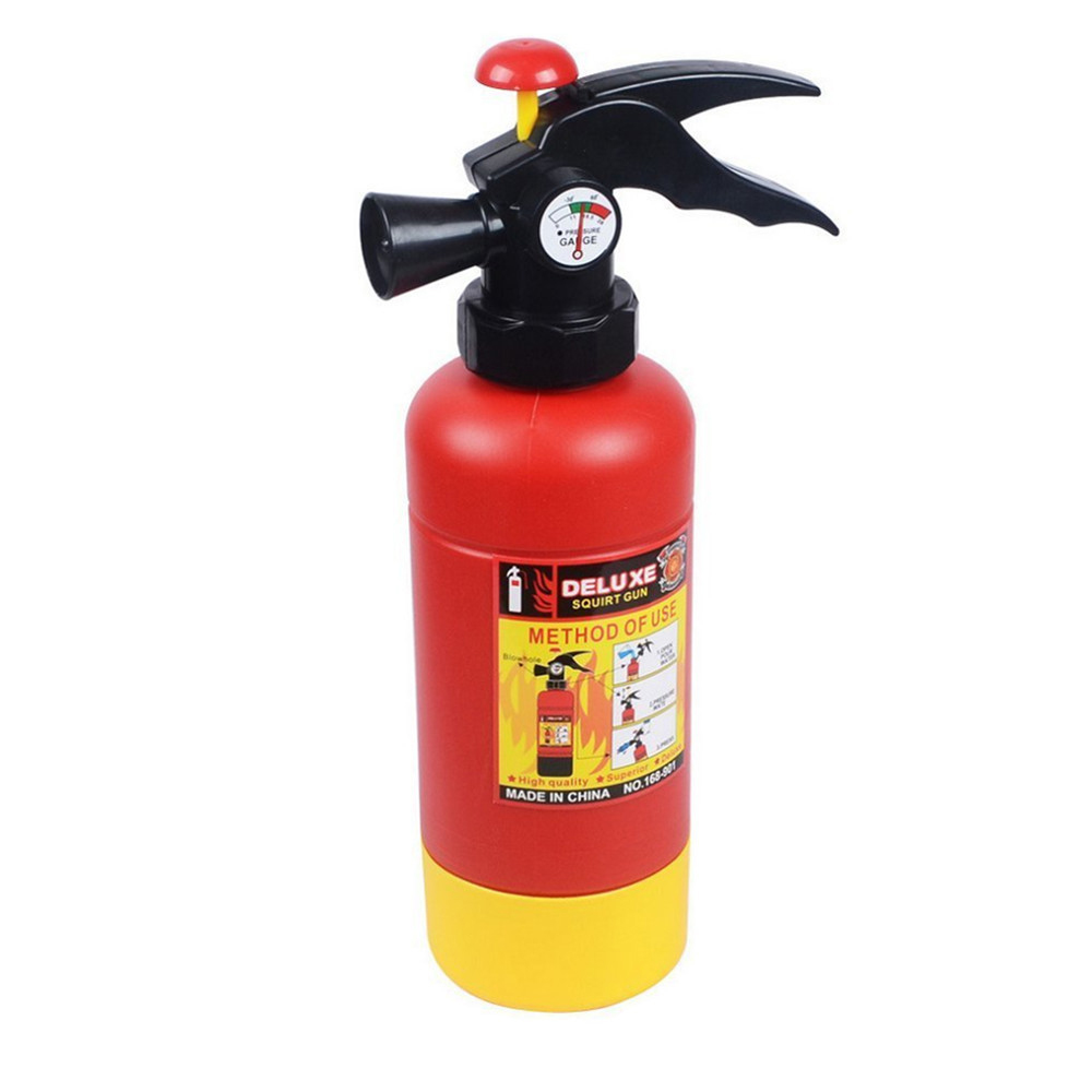 Fun Simulation Fire Extinguisher Toy Children Summer Swimming Water Spray Machine Game Kids Baby Toys Funny Gadgets Hot
