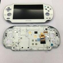 Original OLED đối psvita đối với ps vita 1000 lcd display screen với lắp ráp liên lạc với khung đen trắng xanh